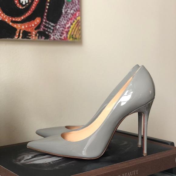 197cfc728b49 Christian Louboutin Shoes - 🌫grey is the new nude🌫décolleté 554 100 Sz  39.5